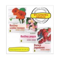 zestaw Rośliny szybko rosnące/ Rośliny pnące/ Owoce jagodowe