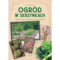 Ogród w skrzynkach. Uprawa roślin przyprawowych i leczniczych